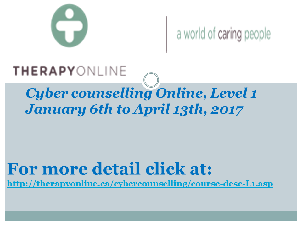 Therapy online-Dec. 20,2016